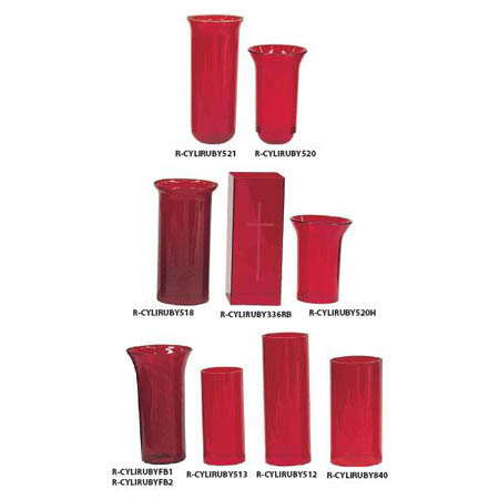 funeral supply ruby mortuary glasses