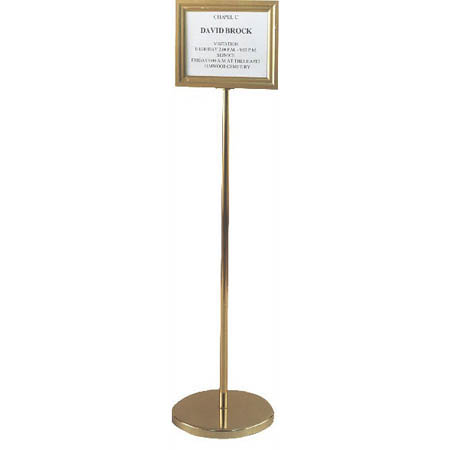Single-Listing Pedestal Directory funeral supply