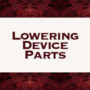 Lowering Dev. Parts