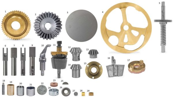 Replacement Parts for Frigid Standard Model